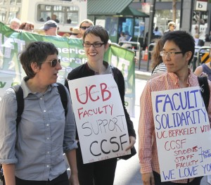 UC Berkeley faculty joined the march to Defend CCSF on July 9th. Click photo for more pics.